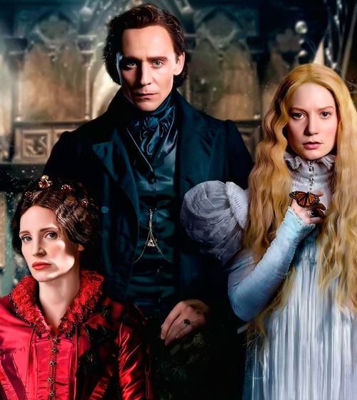 CAst Crimson Peak